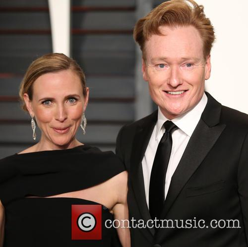 Liza Powel and Conan O'brien 1