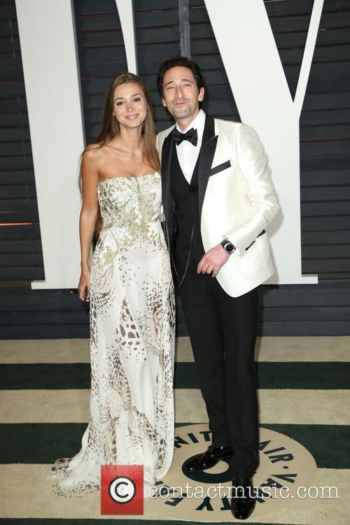 Lara Lieto and Adrien Brody