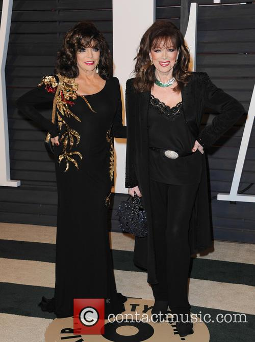 Jackie Collins and Joan Collins 6