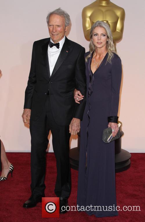 Clint Eastwood and Christina Sandera 1