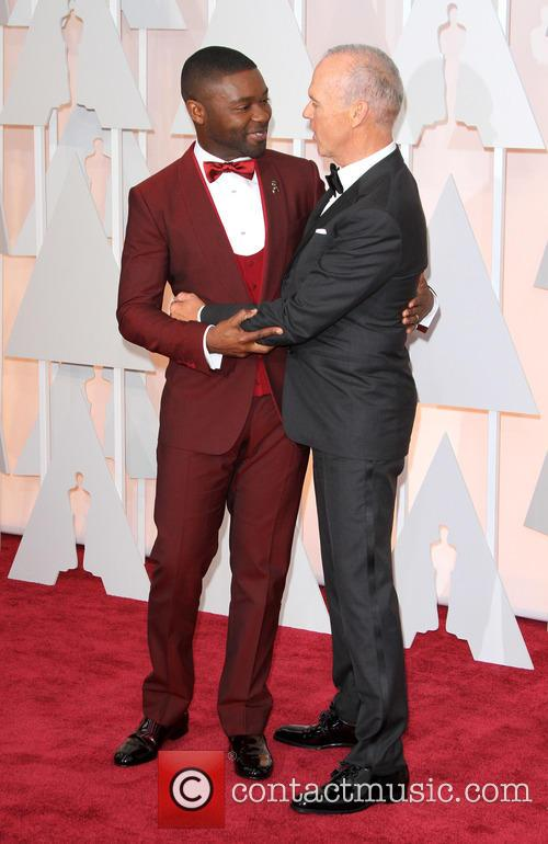 David Oyelowo and Michael Keaton 3