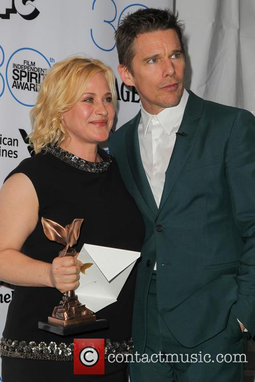 Patricia Arquette and Ethan Hawke 2