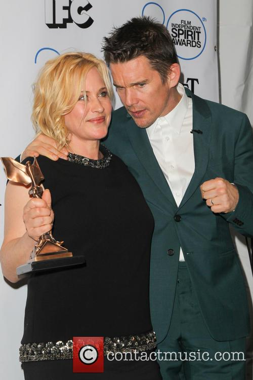 Patricia Arquette and Ethan Hawke 4