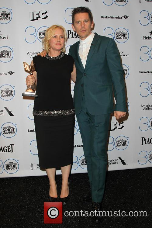 Patricia Arquette and Ethan Hawke 5