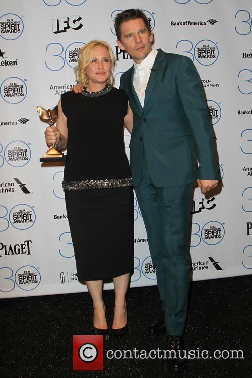 Patricia Arquette and Ethan Hawke 7