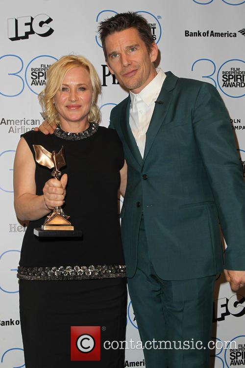 Patricia Arquette and Ethan Hawke 9