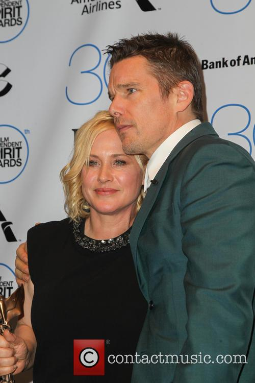 Patricia Arquette and Ethan Hawke 1