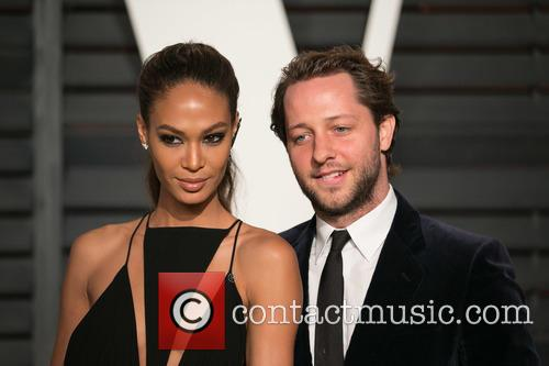 Joan Smalls and Derek Blasberg 1