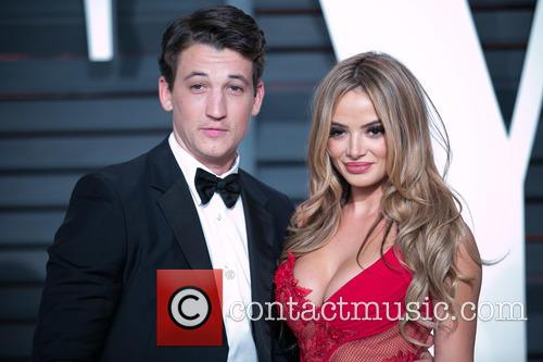 Miles Teller and Keleigh Sperry 1