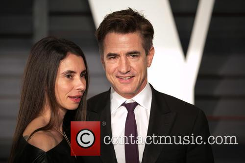 Tharita Cutulle and Dermot Mulroney