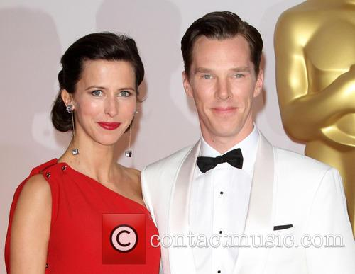Benedict Cumberbatch and Sophie Hunter 5