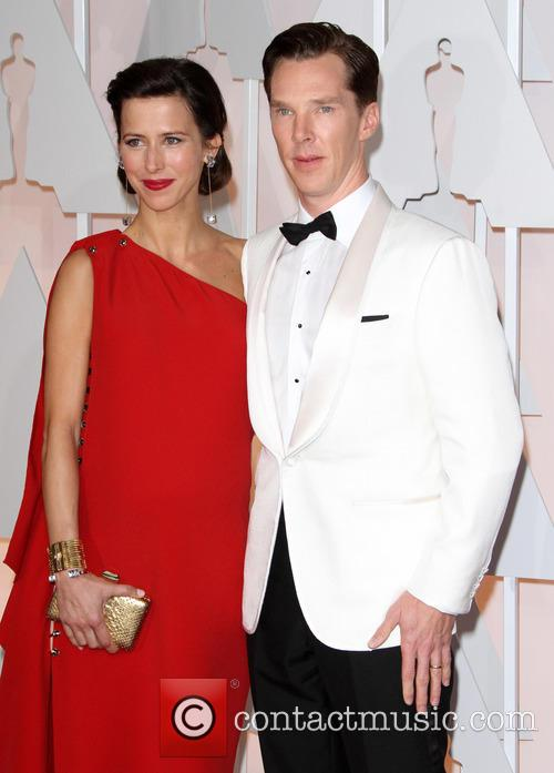 Benedict Cumberbatch and Sophie Hunter 1
