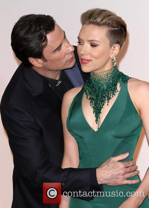 John Travolta and Scarlett Johansson 8