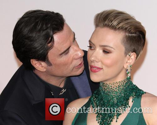 John Travolta and Scarlett Johansson 9