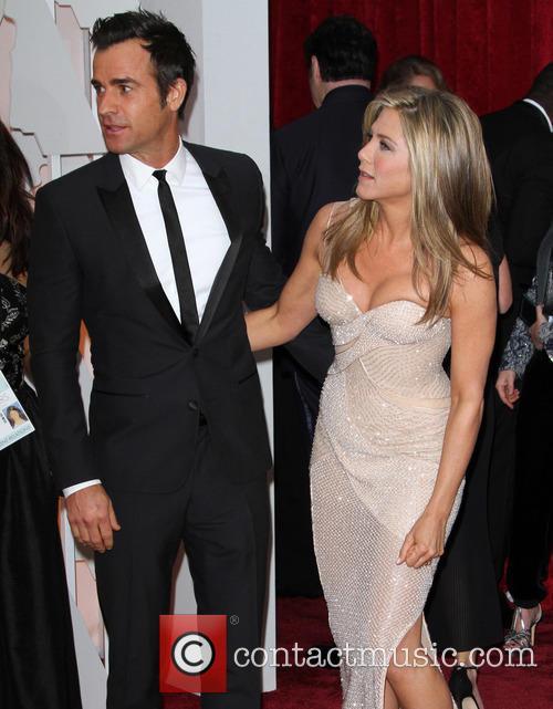 Justin Theroux and Jennifer Aniston 7