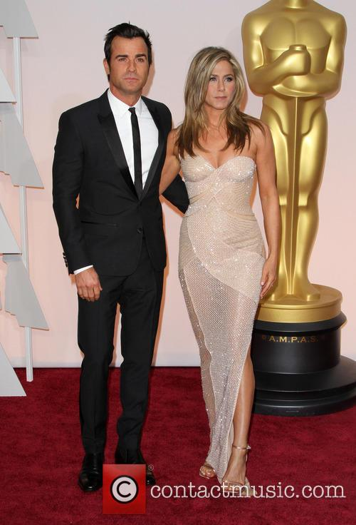 Justin Theroux and Jennifer Aniston 8