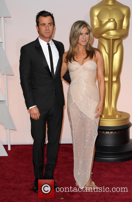 Justin Theroux and Jennifer Aniston 9