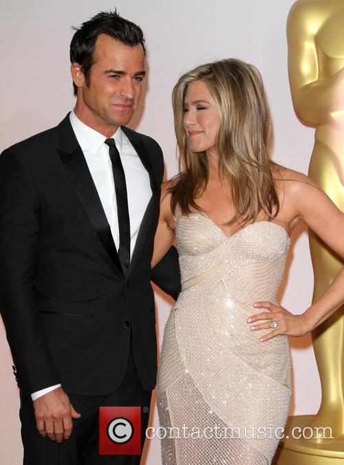 Justin Theroux and Jennifer Aniston 11