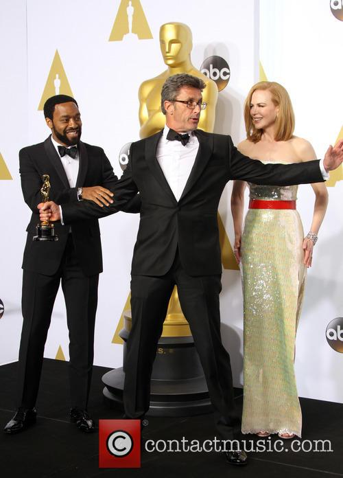 Chiwetel Ejiofor, Director Pawel Pawlikowski and Nicole Kidman 2