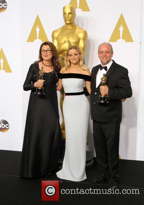 Frances Hannon, Reese Witherspoon and Mark Coulier 4