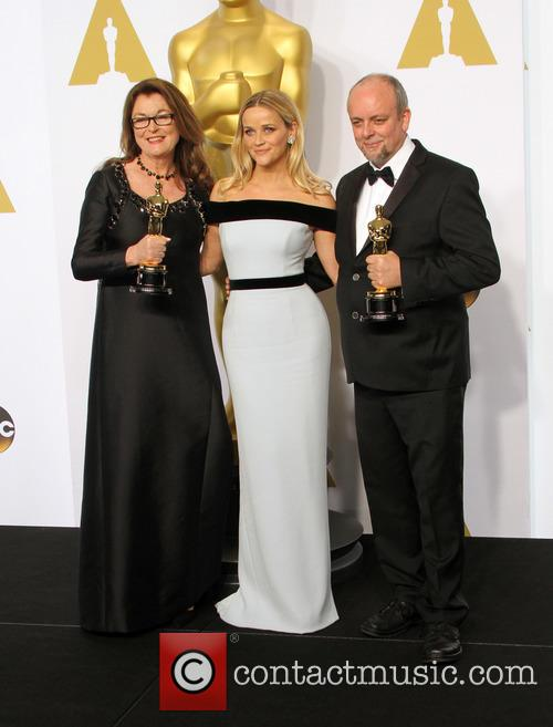 Frances Hannon, Reese Witherspoon and Mark Coulier 5