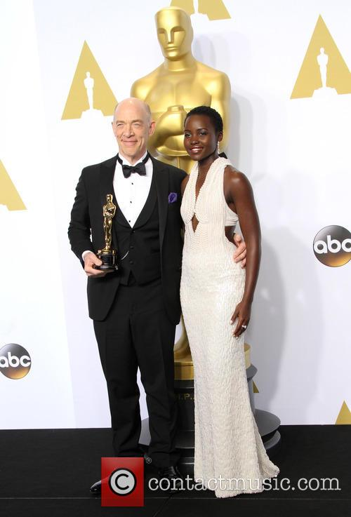 J.k. Simmons and Lupita Nyong'o 2