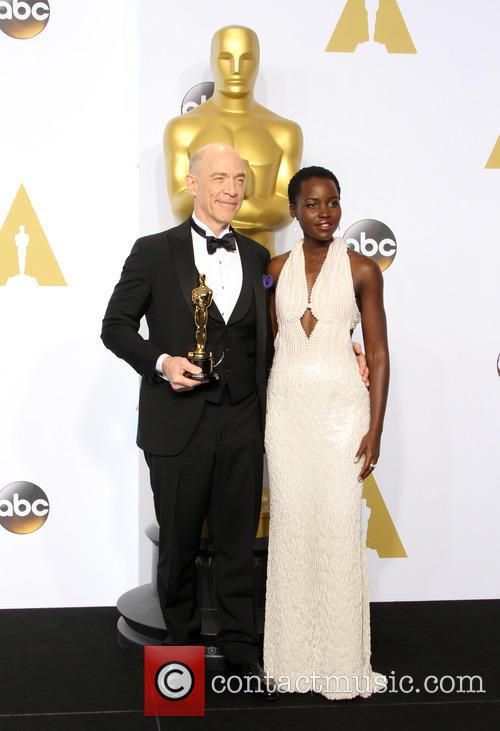 J.k. Simmons and Lupita Nyong'o 3