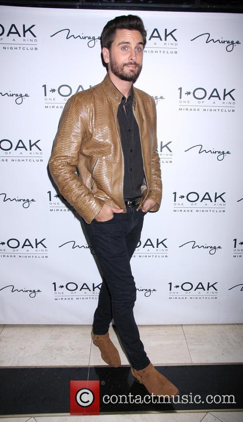 Scott Disick hosts an evening at 1Oak nightclub