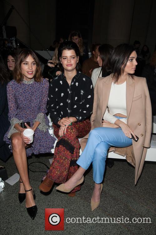 Alexa Chung, Pixie Geldof and Kendall Jenner 2