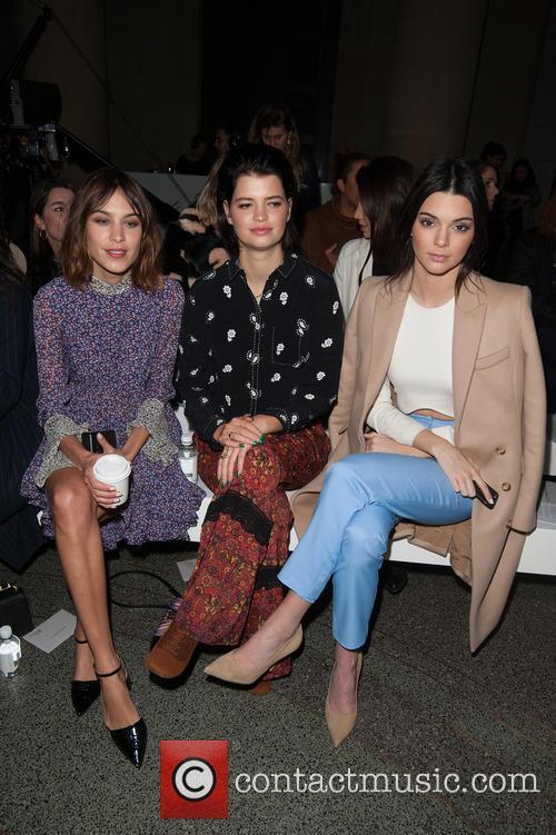 Alexa Chung, Pixie Geldof and Kendall Jenner 1