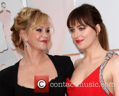 Melanie Griffith and Dakota Johnson 6
