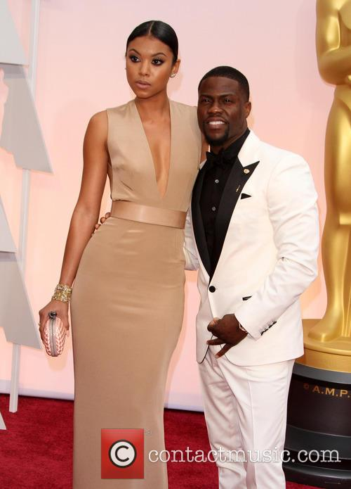 Eniko Parrish and Kevin Hart 2