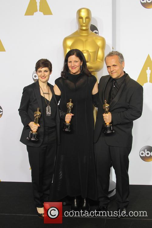Dirk Wilutzky, Laura Poitras and Mathilde Bonnefoy 2