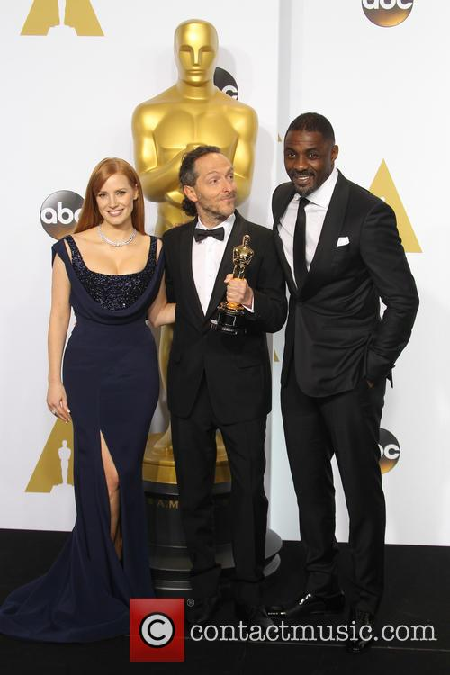 Jessica Chastain, Emmanuel Lubezki and Idris Elba 3