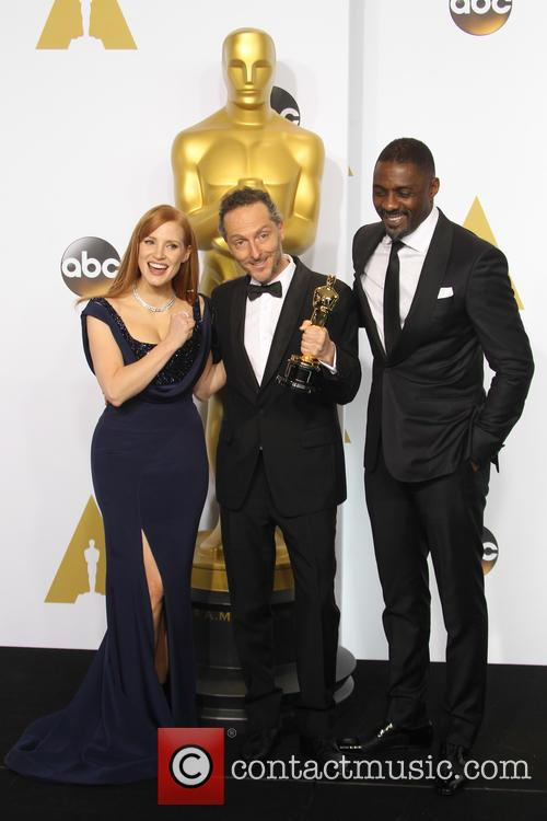 Jessica Chastain, Emmanuel Lubezki and Idris Elba 4