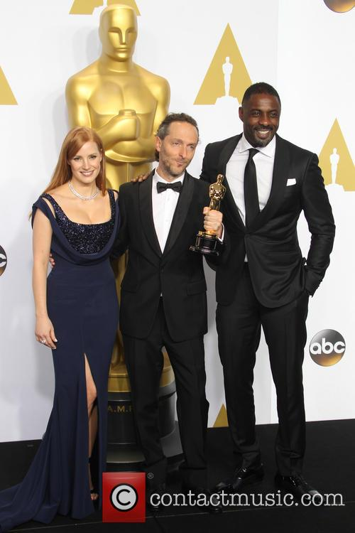 Jessica Chastain, Emmanuel Lubezki and Idris Elba 5