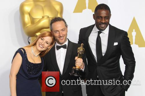 Jessica Chastain, Emmanuel Lubezki and Idris Elba 1