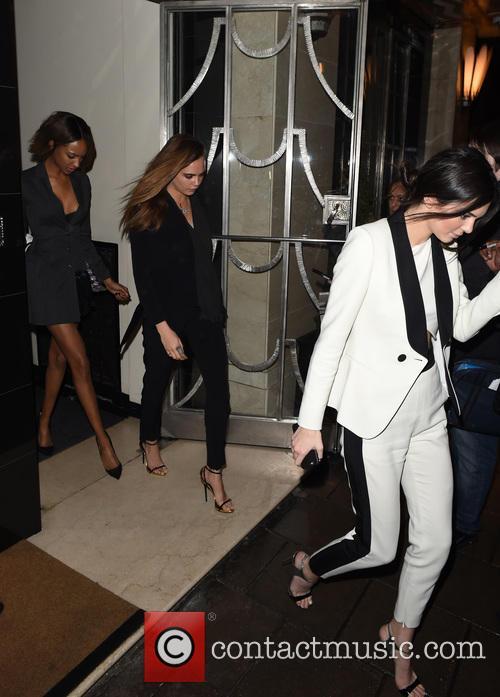 Cara Delevingne, Kendall Jenner and Jordan Dunn 2
