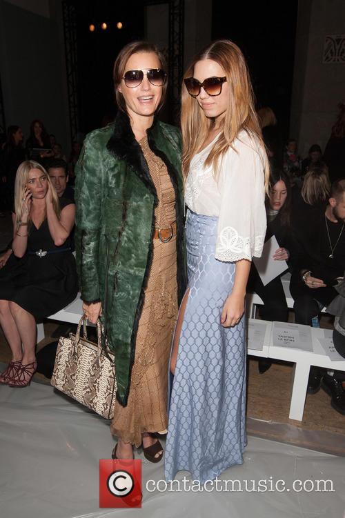Yasmin Le Bon and Amber Le Bon 5
