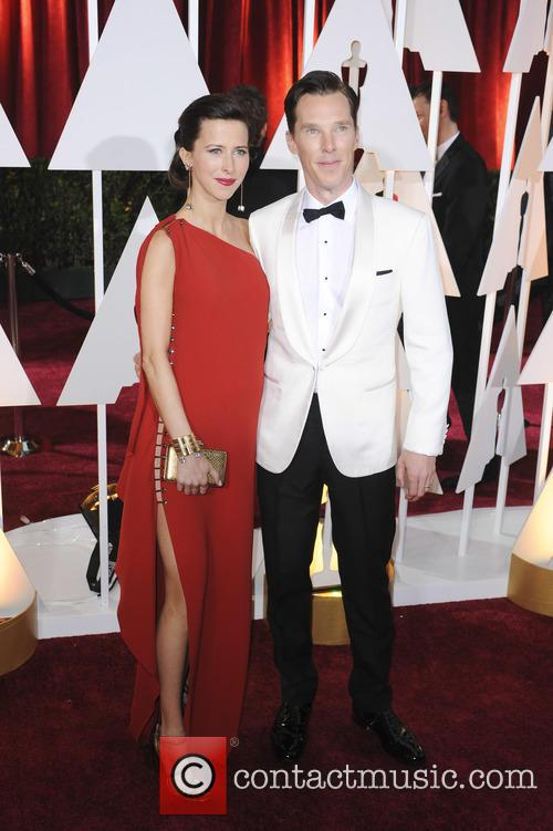 Benedict Cumberbatch and Sophie Hunter 8