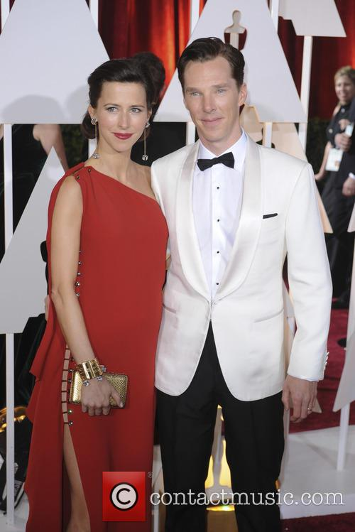 Benedict Cumberbatch and Sophie Hunter 11
