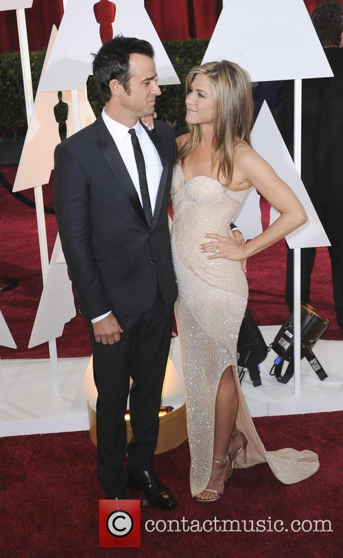 Justin Theroux and Jennifer Aniston 3