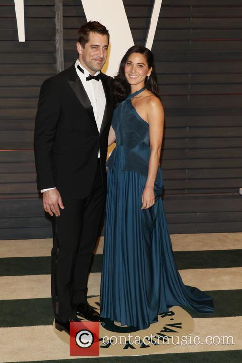 Olivia Munn and Aaron Rodgers 5