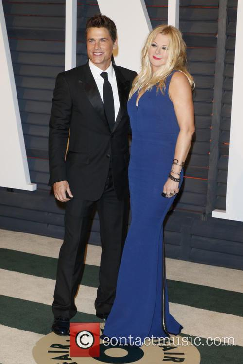 Rob Lowe and Wife Sheryl Berko 2