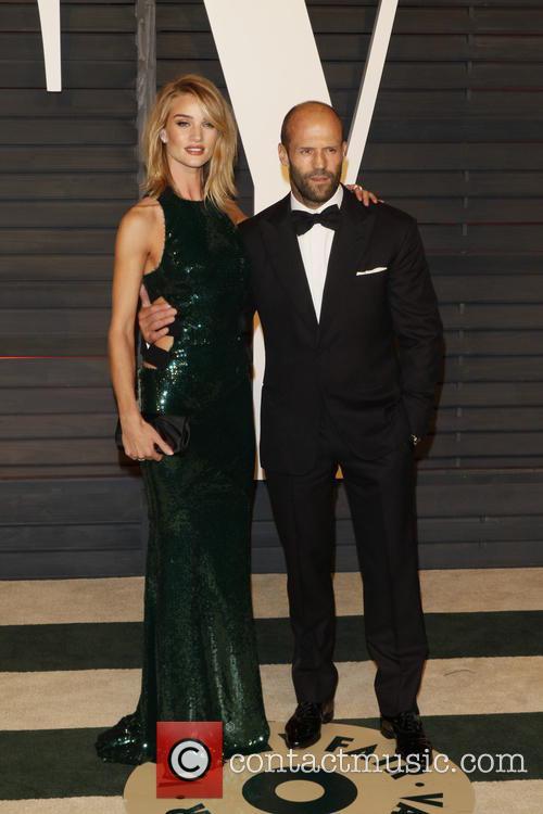 Rosie Huntington-whiteley and Actor Jason Statham 4