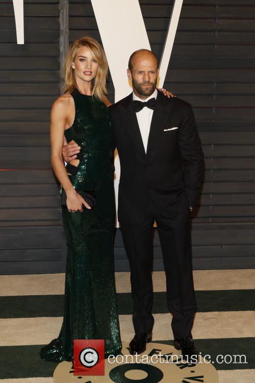 Rosie Huntington-whiteley and Actor Jason Statham 5