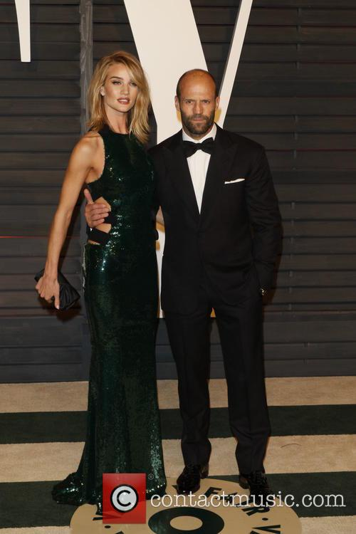 Rosie Huntington-whiteley and Actor Jason Statham 6