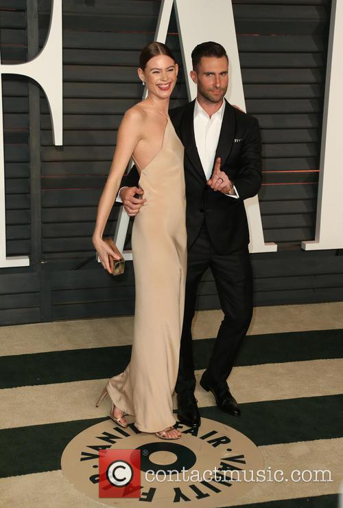 Adam Levine and Behati Prinsloo 1