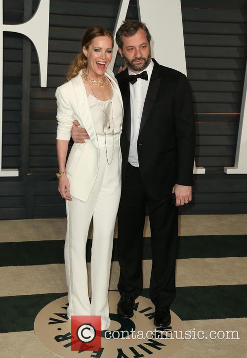 Leslie Mann and Judd Apatow 6