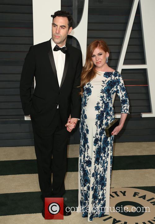 Sacha Baron Cohen and Isla Fisher 1